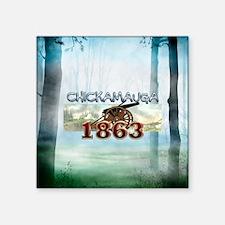 "ABH Chickamauga Square Sticker 3"" x 3"""