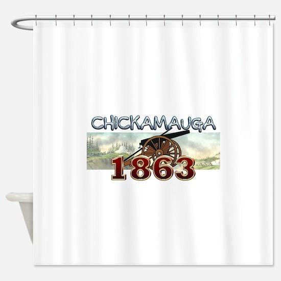 ABH Chickamauga Shower Curtain