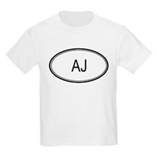 Aj Oval Design Kids T-Shirt