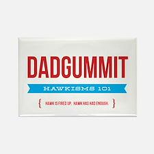 Dadgummit Rectangle Magnet