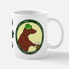 Lager Irish Setter Mug