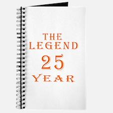 25 year birthday designs Journal