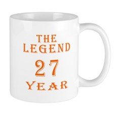 27 year birthday designs Mug