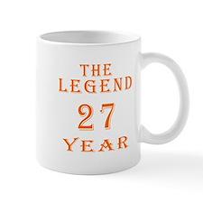 27 year birthday designs Mug