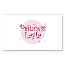 Layla Rectangle Decal