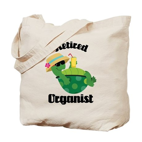 Retired Organist Tote Bag