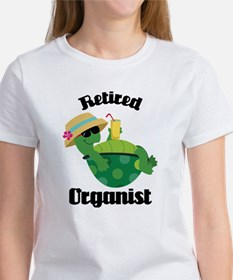 Retired Organist Women's T-Shirt