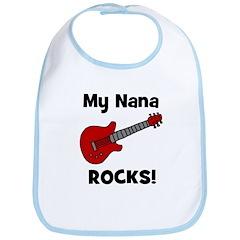 My Nana Rocks! (guitar) Bib