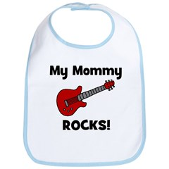 My Mommy Rocks! (guitar) Bib
