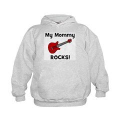My Mommy Rocks! (guitar) Kids Hoodie