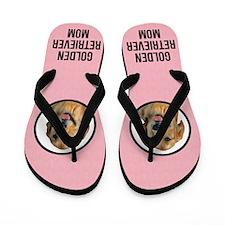 Golden Retriever Mom Flip Flops