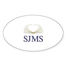 SJMS Oval Decal