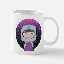 Vintage Astronaut Girl Mug