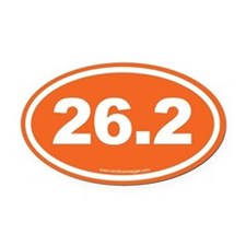 26 Oval Car Magnet