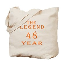 48 year birthday designs Tote Bag