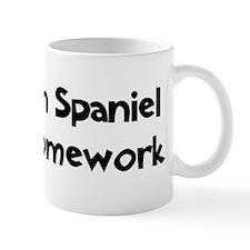 Boykin Spaniel ate my homewor Mug