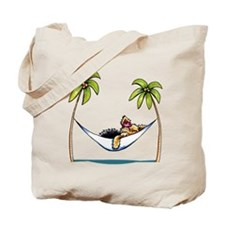 Yorkie Island Princess Tote Bag
