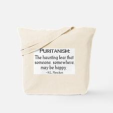 Puritanism Tote Bag
