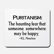 Puritanism Mousepad