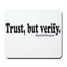 Trust, but verify. Mousepad