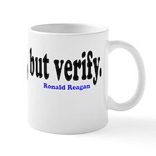 Trust, but verify. Small Mug