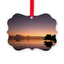 Bungalow Sunrise Ornament