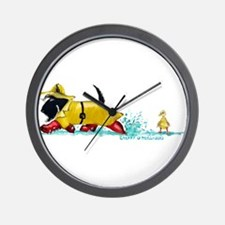 Scottie Showers Wall Clock