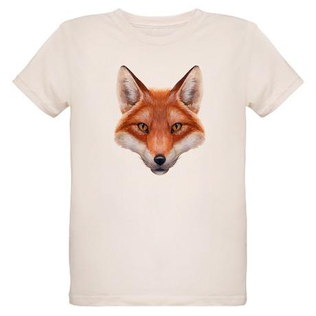 Red Fox Face T-Shirt