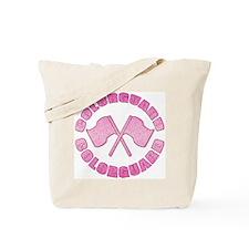 Vintage Colorguard Pink Tote Bag