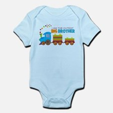 I am the Cutest Big Brother - Train Body Suit