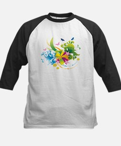 Summer Flower Power Baseball Jersey