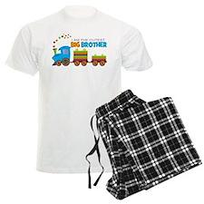 I am the Cutest Big Brother - Train Pajamas