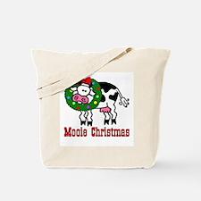 Xmas Cow Tote Bag