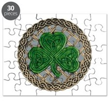 Shamrock And Celtic Knots Puzzle