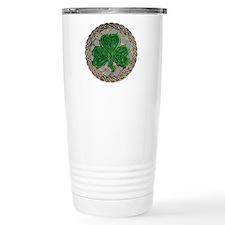 Shamrock And Celtic Knots Travel Mug