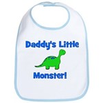 Daddy's Little Monster - Dino Bib