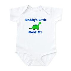 Daddy's Little Monster - Dino Infant Bodysuit