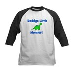 Daddy's Little Monster - Dino Kids Baseball Jersey