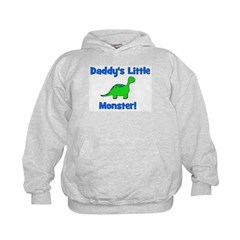 Daddy's Little Monster - Dino Hoodie