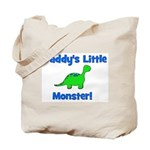 Daddy's Little Monster - Dino Tote Bag
