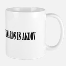 VODKA SPELLED BACKWARDS IS AKDOV Mug