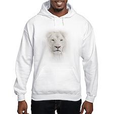 White Lion Head Hoodie