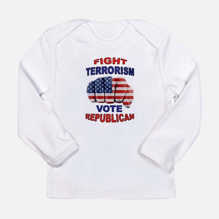 TERRORISM Long Sleeve T-Shirt