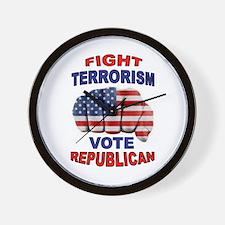 TERRORISM Wall Clock