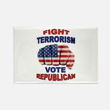 TERRORISM Rectangle Magnet