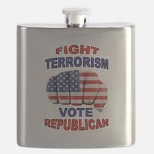 TERRORISM Flask