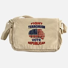 TERRORISM Messenger Bag