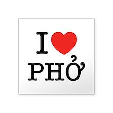 I Love (Heart) Pho Sticker