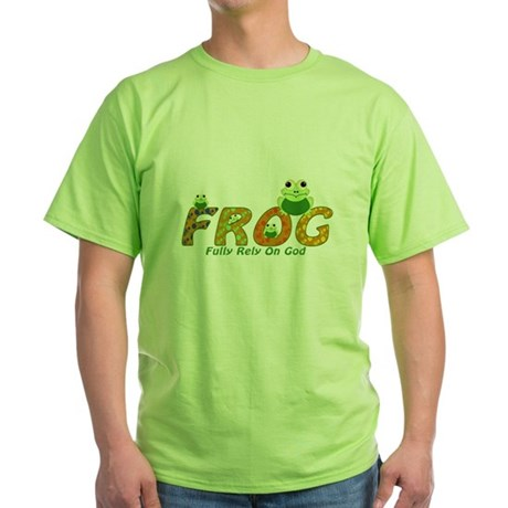 Frog Fully Rely On God T-Shirt