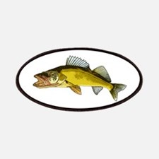 walleye art Patches